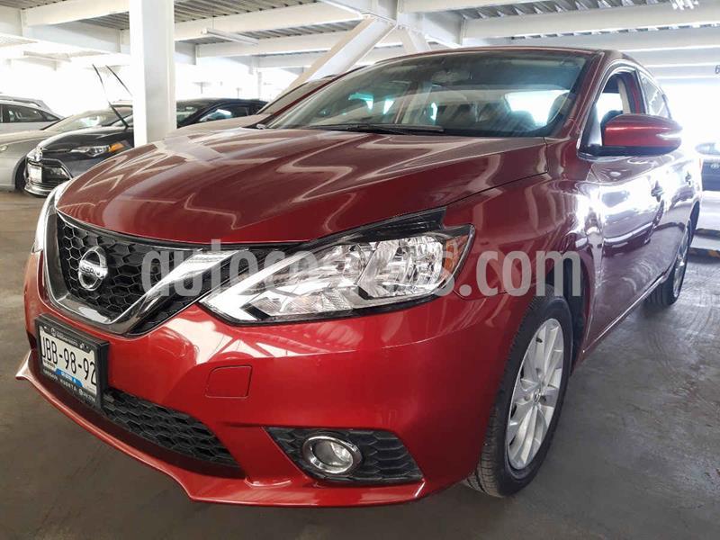 Nissan Sentra Advance usado (2018) color Rojo precio $235,000