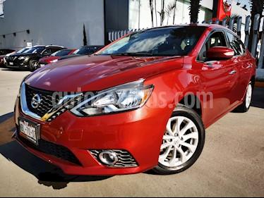 Nissan Sentra Advance usado (2017) color Rojo precio $220,000