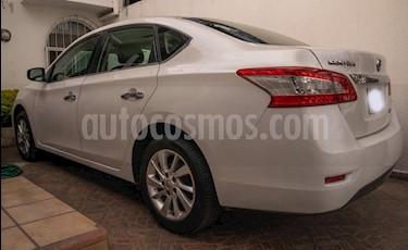 Nissan Sentra Sense Aut usado (2015) color Blanco precio $160,000