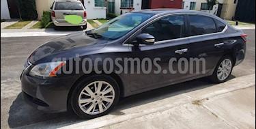 Nissan Sentra Exclusive Aut usado (2013) color Acero precio $138,000