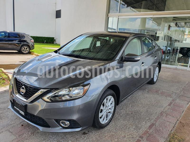 Nissan Sentra Advance usado (2019) color Gris precio $256,000