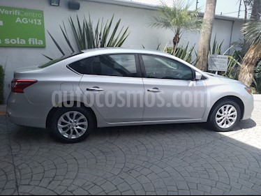 Nissan Sentra Sense usado (2017) color Plata precio $169,600