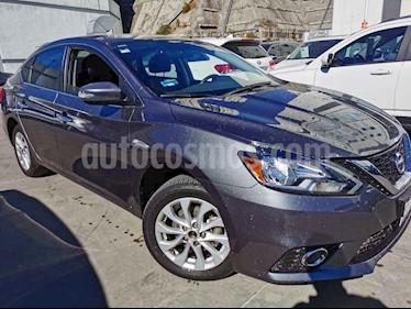 Nissan Sentra 4p Advance L4/1.8 Aut usado (2017) color Gris precio $198,000