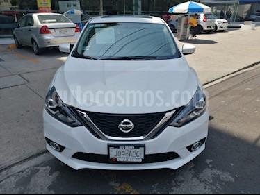 Nissan Sentra Exclusive NAVI Aut usado (2017) color Blanco precio $251,000