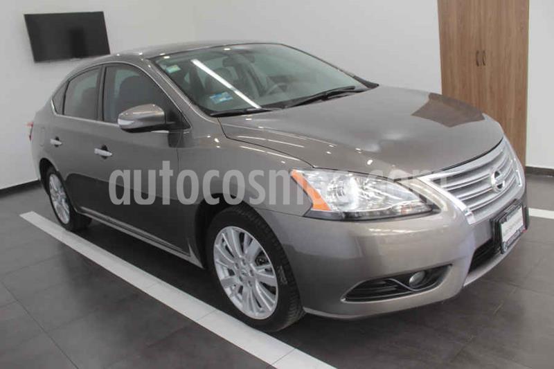 Nissan Sentra Exclusive Aut NAVI usado (2015) color Gris precio $189,000