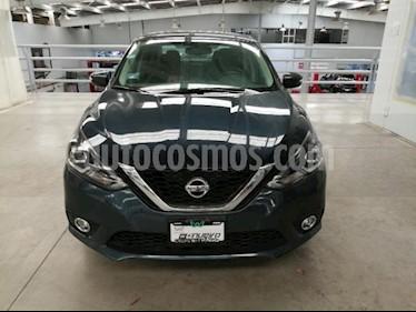 Nissan Sentra 4P EXCLUSIVE L4/1.8 AUT NAVE usado (2018) color Azul precio $310,000