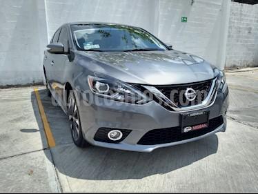 Nissan Sentra SR Turbo usado (2017) color Gris precio $220,000