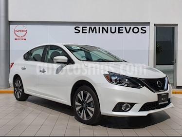 Foto Nissan Sentra Exclusive Aut NAVI usado (2018) color Blanco Perla precio $319,000