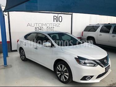 Nissan Sentra Exclusive Aut  usado (2018) color Blanco precio $239,000