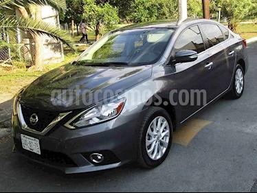 Nissan Sentra Advance Aut usado (2017) color Gris precio $199,000