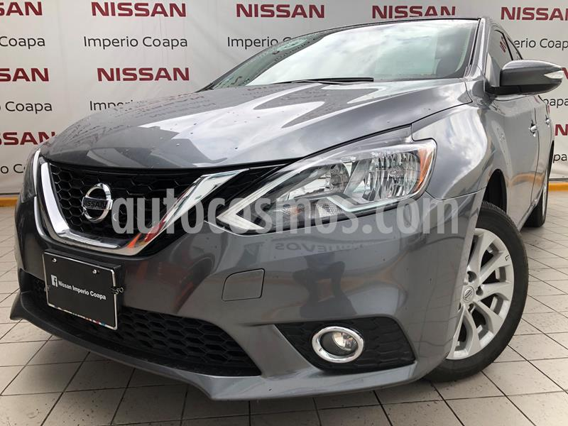 Nissan Sentra Advance usado (2018) color Gris Oxford precio $239,000