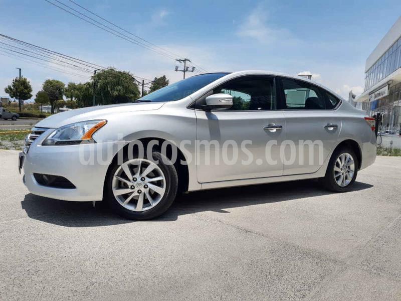Nissan Sentra Advance usado (2016) color Plata precio $170,000