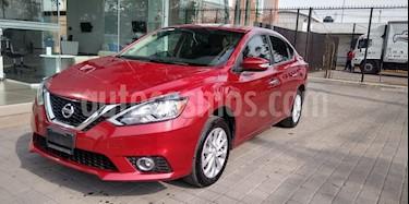 Nissan Sentra Advance usado (2017) color Rojo precio $192,500