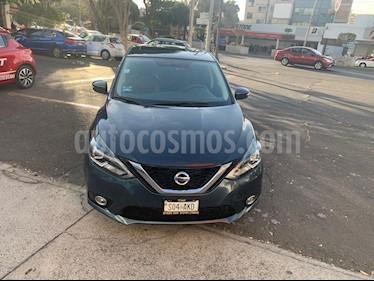Nissan Sentra Exclusive NAVI Aut usado (2017) color Azul Oriental precio $247,000