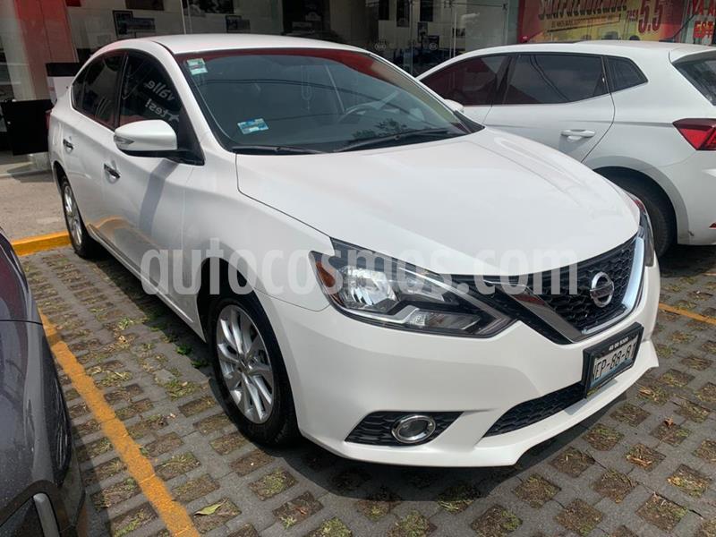 Nissan Sentra Advance usado (2017) color Blanco precio $229,900