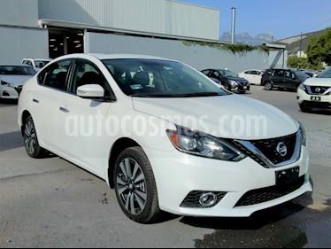 Nissan Sentra Exclusive Aut usado (2019) color Blanco precio $335,000
