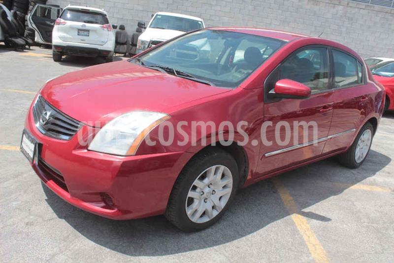 Nissan Sentra Custom usado (2011) color Rojo precio $109,000