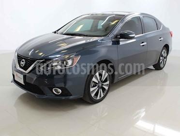 Nissan Sentra Exclusive Aut NAVI usado (2018) color Azul precio $250,000