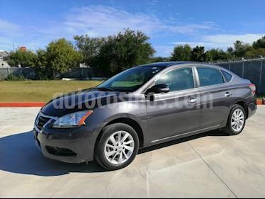 Nissan Sentra Advance usado (2015) color Gris precio $155,000