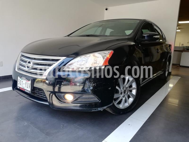 Nissan Sentra Advance Aut usado (2013) color Negro precio $139,800
