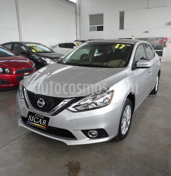 Nissan Sentra Advance Aut usado (2017) color Plata Dorado precio $189,000