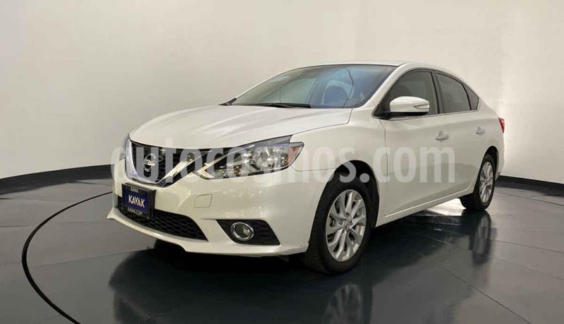 Nissan Sentra Advance Aut usado (2017) color Blanco precio $212,999