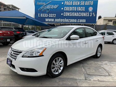 Nissan Sentra Exclusive Aut usado (2015) color Blanco precio $159,900