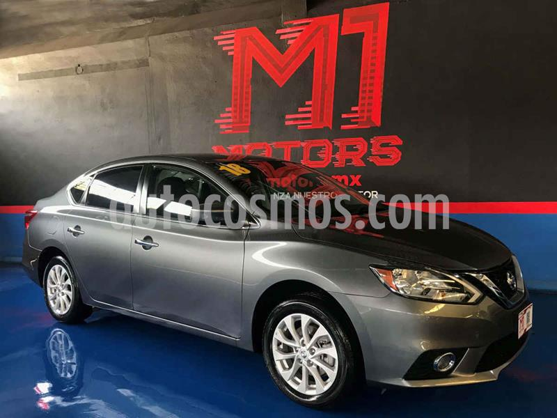 Nissan Sentra Sense usado (2018) color Gris precio $194,500