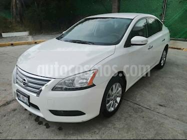 Nissan Sentra 4p Advance L4/1.8 Aut usado (2016) color Blanco precio $177,000