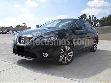 Nissan Sentra Exclusive Aut NAVI usado (2017) color Negro precio $210,000