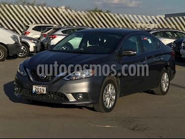 Nissan Sentra 4p Advance L4/1.8 Aut usado (2019) color Gris precio $239,900