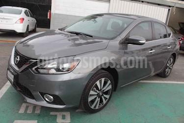 Nissan Sentra Exclusive Aut NAVI usado (2017) color Gris precio $229,000