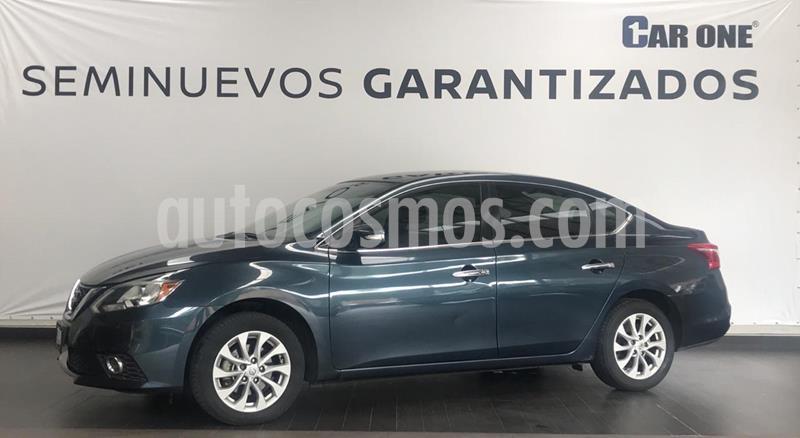 Foto Nissan Sentra Advance Aut usado (2017) color Azul Oriental precio $194,900