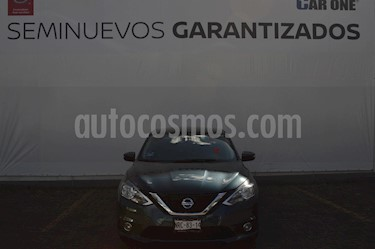 Nissan Sentra Advance Aut usado (2017) color Azul precio $209,900