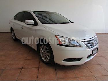 Nissan Sentra Advance Aut usado (2016) color Blanco precio $195,000