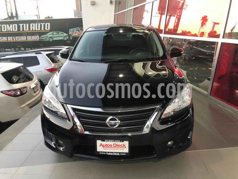 Nissan Sentra SR Aut usado (2016) color Negro precio $205,000
