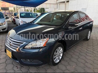 Nissan Sentra 4P ADVANCE L4/1.8 MAN usado (2013) color Azul Marino precio $125,000