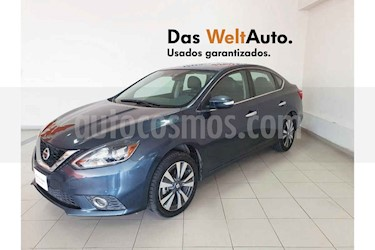 Foto Nissan Sentra Exclusive Aut NAVI usado (2017) color Azul precio $214,995
