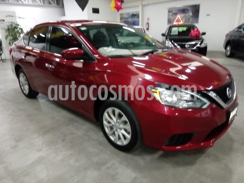Nissan Sentra Sense usado (2017) color Rojo precio $189,000