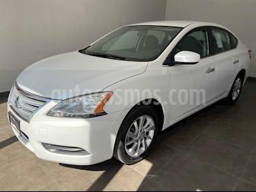 Nissan Sentra 4p Sense L4/1.8 Aut usado (2016) color Blanco precio $165,000
