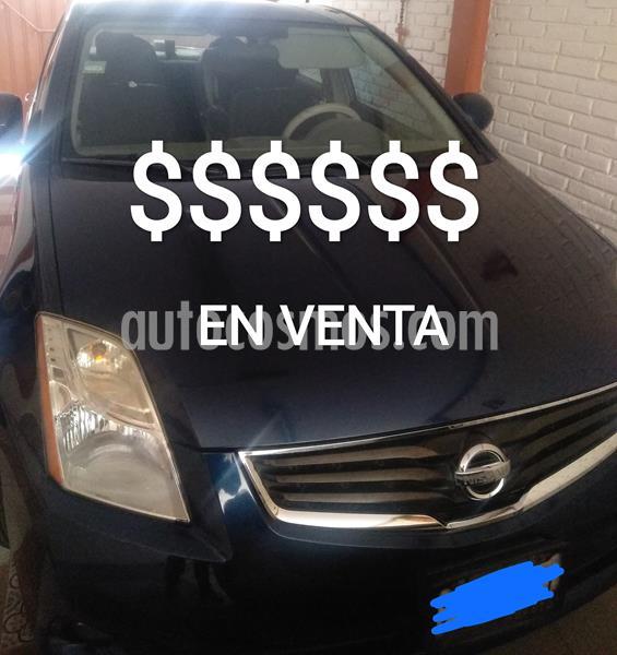 Nissan Sentra Custom usado (2010) color Azul precio $83,000