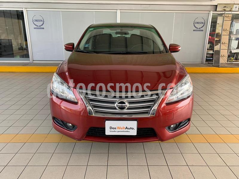 Nissan Sentra Advance usado (2016) color Rojo Burdeos precio $179,900
