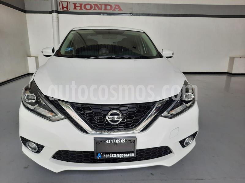 Nissan Sentra SR Turbo usado (2017) color Blanco precio $260,000
