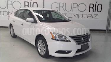 Nissan Sentra Advance Aut usado (2015) color Blanco precio $165,000