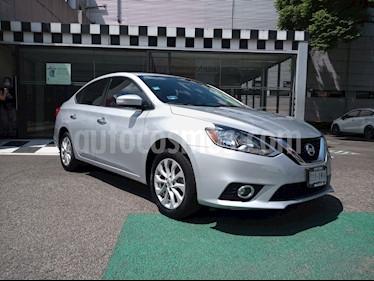 Nissan Sentra Advance usado (2017) color Plata precio $190,000