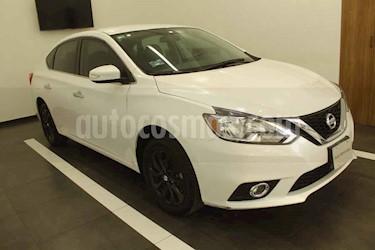 Nissan Sentra 4p Advance L4/1.8 Aut usado (2018) color Blanco precio $225,000