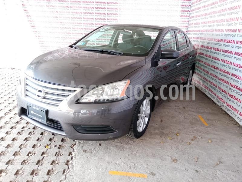 Nissan Sentra Sense usado (2014) color Hierro Encendido precio $135,000