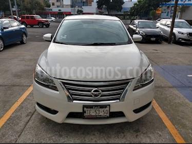 Nissan Sentra Advance usado (2015) color Blanco precio $155,000