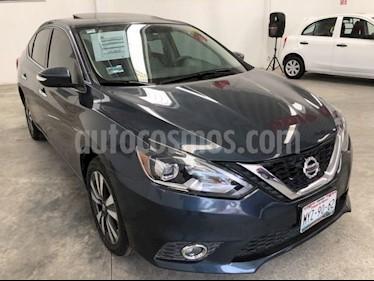 foto Nissan Sentra Exclusive Aut NAVI usado (2017) color Azul Marino precio $230,000