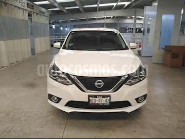 Nissan Sentra 4P EXCLUSIVE L4/1.8 AUT NAVE usado (2018) color Blanco precio $270,000